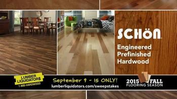 Lumber Liquidators TV Spot, '2015 Fall Flooring Season: Fall Laminates' - Thumbnail 6