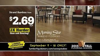 Lumber Liquidators TV Spot, '2015 Fall Flooring Season: Fall Laminates' - Thumbnail 7