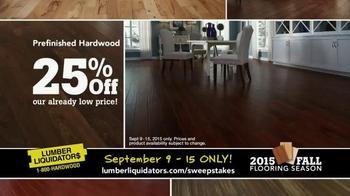 Lumber Liquidators TV Spot, '2015 Fall Flooring Season: Fall Laminates' - Thumbnail 8