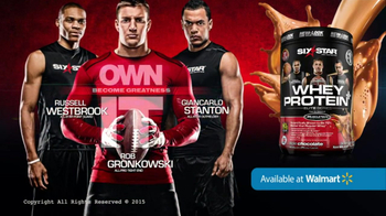 Six Star Whey Protein+ TV Spot, 'Pros Trust' Ft. Rob Gronkowski - Thumbnail 5