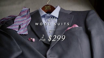 JoS. A. Bank Perfect Price Sale TV Spot, 'Wool Suits, Shirts and Pants' - Thumbnail 2