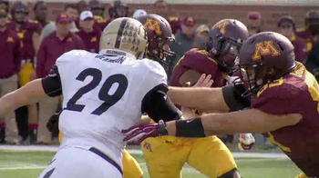 University of Minnesota Gopher Football TV Spot, 'Kent State Game' - Thumbnail 1