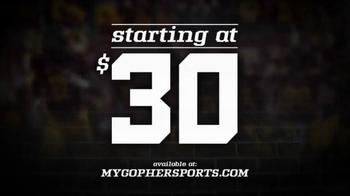 University of Minnesota Gopher Football TV Spot, 'Kent State Game' - Thumbnail 5