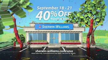 Sherwin-Williams Four-Day Super Sale TV Spot, 'September 2015' - Thumbnail 3