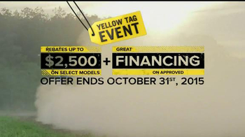 Can-Am Yellow Tag Event TV Spot, 'Get Turbocharged' - Thumbnail 7
