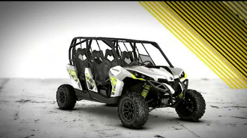 Can-Am Yellow Tag Event TV Spot, 'Get Turbocharged' - Thumbnail 2