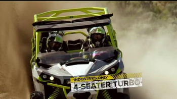 Can-Am Yellow Tag Event TV Spot, 'Get Turbocharged' - Thumbnail 4