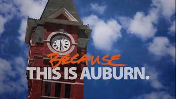 Auburn University TV Spot, 'Because' Featuring Cam Newton - Thumbnail 10