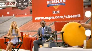 Cheez-It TV Spot, 'You Can't Rush Beauty' Featuring Desmond Howard - 119 commercial airings