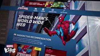 MarvelKids.com TV Spot, 'Join the Action Now' - Thumbnail 1