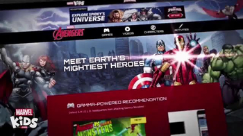 MarvelKids.com TV Spot, 'Join the Action Now'