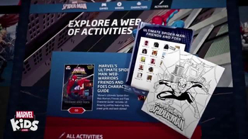 MarvelKids.com TV Spot, 'Join the Action Now' - Thumbnail 4