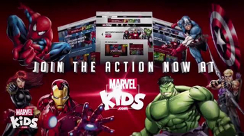 MarvelKids.com TV Spot, 'Join the Action Now' - Thumbnail 6