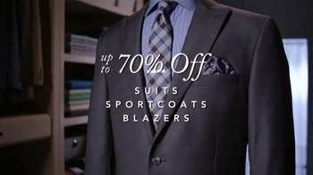 JoS. A. Bank The Entire Stock Sale TV Spot, 'Blazers: Executive & Traveler' - Thumbnail 3