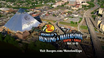 Bass Pro Shops World's Hunting & Waterfowl Expo & Sale TV Spot, 'First' - 73 commercial airings