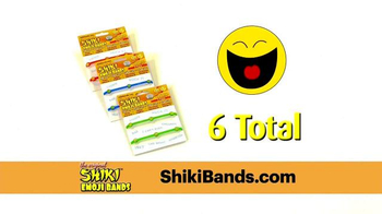 Shiki Emoji Bands TV Spot, 'Wear Your Emotions' - Thumbnail 7
