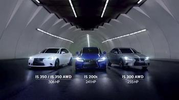 Lexus IS TV Spot, 'El jefe de discoteca' [Spanish] - Thumbnail 9