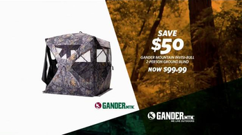 Gander Mountain TV Spot, 'Time to Disappear' - Thumbnail 6