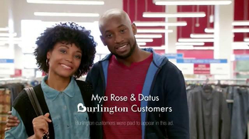 Burlington Coat Factory TV Spot, 'Mya Rose and Datus'