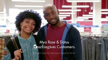Burlington Coat Factory TV Spot, 'Mya Rose and Datus'