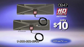 HD Free TV Antenna TV Spot, 'Eliminate Your Cable Bill' - Thumbnail 9