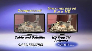 HD Free TV Antenna TV Spot, 'Eliminate Your Cable Bill' - Thumbnail 5