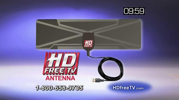 HD Free TV Antenna TV Spot, 'Eliminate Your Cable Bill' - Thumbnail 8