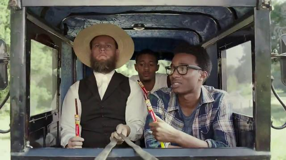 slim jim tv commercial amish buggy ispot tv