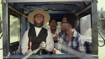 Slim Jim TV Spot, 'Amish Buggy' - Thumbnail 10