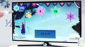 LeapTV TV Spot, 'Frozen: From Skating Action to Learning Subtraction'