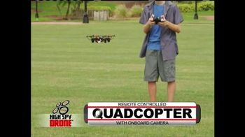 High Spy Drone TV Spot, 'Catch All the Action' - 65 commercial airings