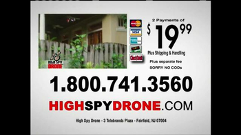 High Spy Drone TV Spot, 'Catch All the Action' - Thumbnail 8