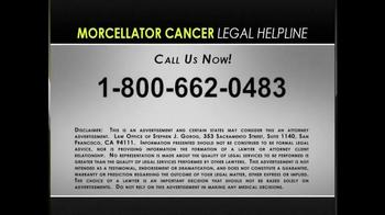 Morcellator Cancer Legal Helpline TV Spot, 'Metastatic Leiomyosarcoma' - Thumbnail 7