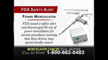 Morcellator Cancer Legal Helpline TV Spot, 'Metastatic Leiomyosarcoma' - Thumbnail 4