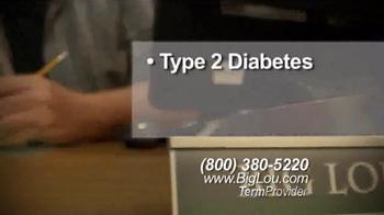 Big Lou Insurance TV Spot, 'Diabetes' - Thumbnail 2