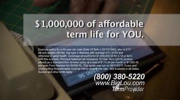 Big Lou Insurance TV Spot, 'Diabetes' - Thumbnail 4