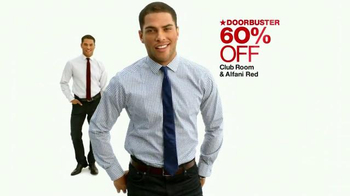 Macy's TV Spot, 'Suits Separates, Shirts, Ties & Gold Chains' - Thumbnail 4