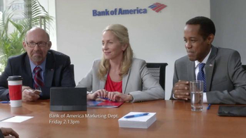 Bank of America Preferred Rewards TV Spot, 'Conference' Feat. Billy Idol - Thumbnail 1