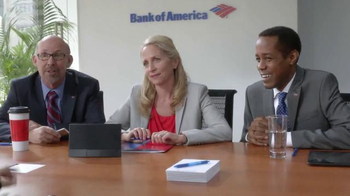 Bank of America Preferred Rewards TV Spot, 'Conference' Feat. Billy Idol - Thumbnail 3