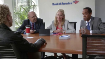 Bank of America Preferred Rewards TV Spot, 'Conference' Feat. Billy Idol - Thumbnail 4