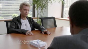 Bank of America Preferred Rewards TV Spot, 'Conference' Feat. Billy Idol