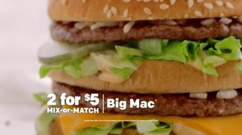 McDonald's TV Spot, 'Mix-or-Match' - Thumbnail 2