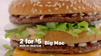 McDonald's TV Spot, 'Mix-or-Match' - Thumbnail 3