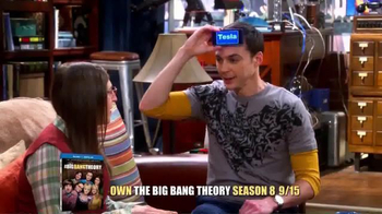 The Big Bang Theory Season 8 and 9 Blu-ray TV Spot - Thumbnail 1