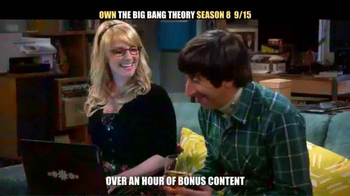 The Big Bang Theory Season 8 and 9 Blu-ray TV Spot - Thumbnail 3