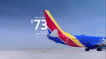 Southwest Airlines TV Spot, 'Heads or Tails' Song by BØRNS - Thumbnail 3