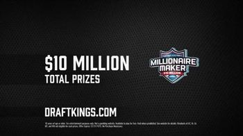 DraftKings Millionaire Maker TV Spot, 'Crush It' Featuring Matthew Berry - Thumbnail 8