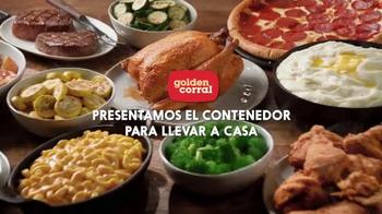 Golden Corral TV Spot, 'El contenedor para llevar a casa' [Spanish]
