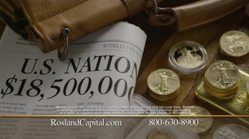 Rosland Capital Gold and Silver IRAs TV Spot, '$18.5 Trillion in Debt' - Thumbnail 4
