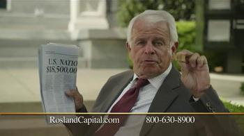 Rosland Capital Gold and Silver IRAs TV Spot, '$18.5 Trillion in Debt' - Thumbnail 7